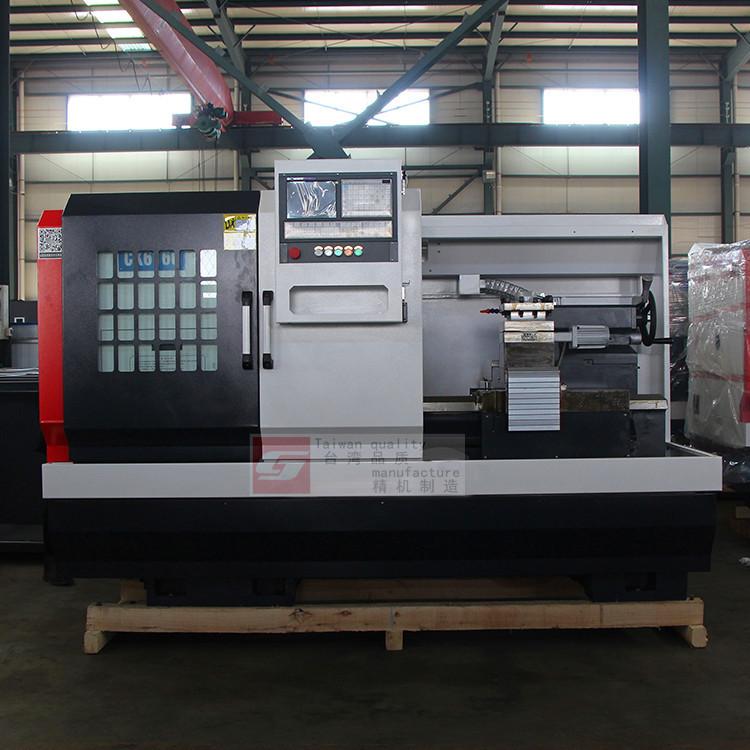 JINGJI Máy tiện CNC Cung cấp máy tiện CNC nặng ngang CK6150 Máy tiện CNC cắt nặng Máy công cụ CNC độ
