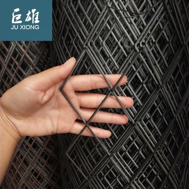 JUXIONG Lưới kim loại Lưới thép hình kim cương kim loại lưới mở rộng bàn đạp lưới kéo lưới tấm trang