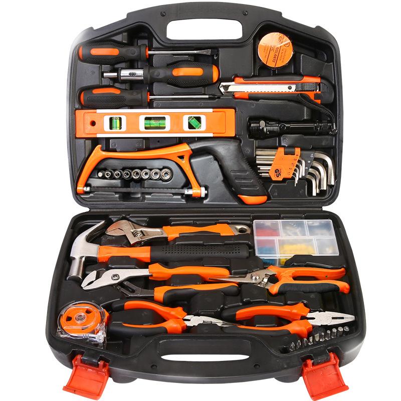 HABO Thị trường công cụ Hướng dẫn sử dụng bộ công cụ phần cứng chế biến gỗ hộp công cụ điện phù hợp