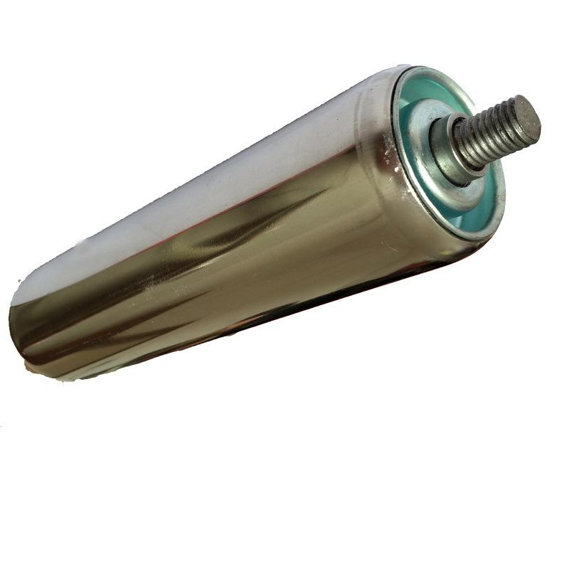 TIANMING Con lăn Đường ống thép không gỉ con lăn không được cung cấp con lăn băng tải con lăn ánh sá