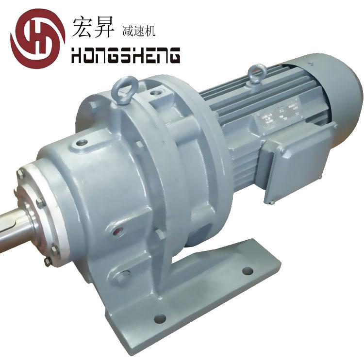 HONGSHENG Máy giảm tốc Thường Châu Hồng Thắng bản lề dây giảm tốc cycloidal pinwheel giảm tốc nhà má