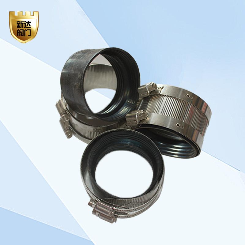 XINDA Đai kẹp(đai ôm) Các nhà sản xuất cung cấp ống thép không gỉ 304 ống kẹp ống thoát nước cao cấp