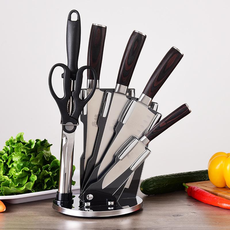 Bộ dụng cụ dao inox nhà bếp Yangjiang