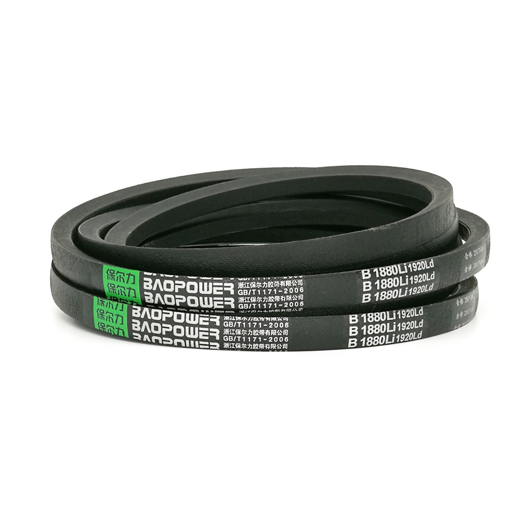BAOPOWER Dây curoa B2300B2311B2337B2340B2350 V-đai loại B vành đai công nghiệp bảo trì vành đai tam