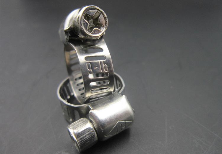 HT Đai kẹp(đai ôm) / Haitong Vòi vòi Mỹ Clip Clip ống khí hoành tráng 4 điểm Kẹp ống kẹp