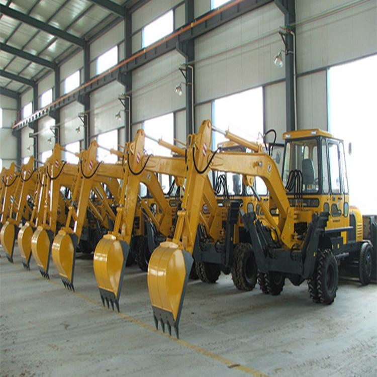 QIYANG Máy đào đất máy xúc đào nhỏ nâng QY-45c nông nghiệp
