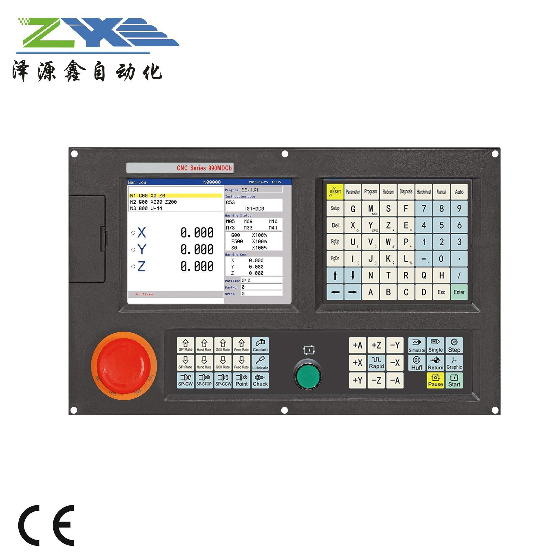 Hệ thống máy phay CNC đa năng 2-4 trục