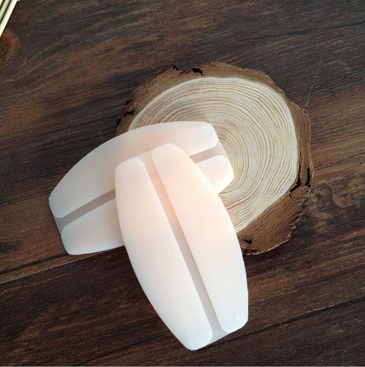 đệm vai áo Silicone Shoulder Pad Trong suốt Dây đeo vai Vô hình Giải nén Không trượt Vai Pad Đồ lót