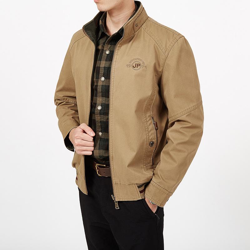 Áo khoác hai mặt Cotton Casual , thương hiệu NIAN JEEP