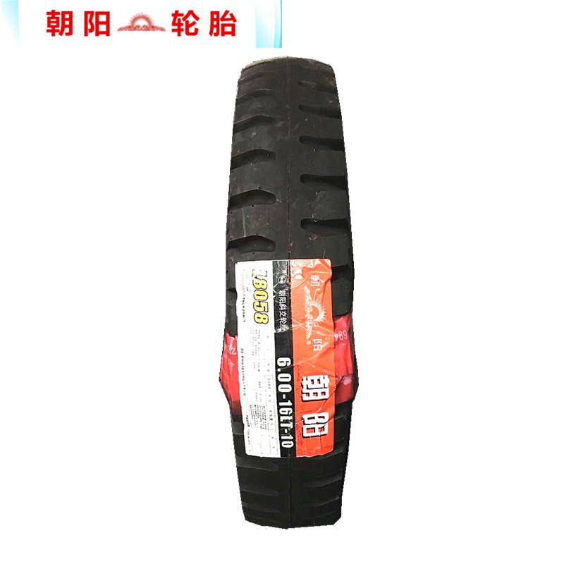 lốp xe tải Chaoyang 600-16LT mới + mô hình lốp xe tải L8058.