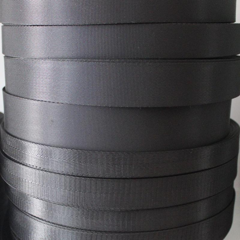 TUOCAN đai dệt Nhà máy trực tiếp vải nylon giả nylon ghế trẻ em dây đai mô hình xương cá dày đặc cuố