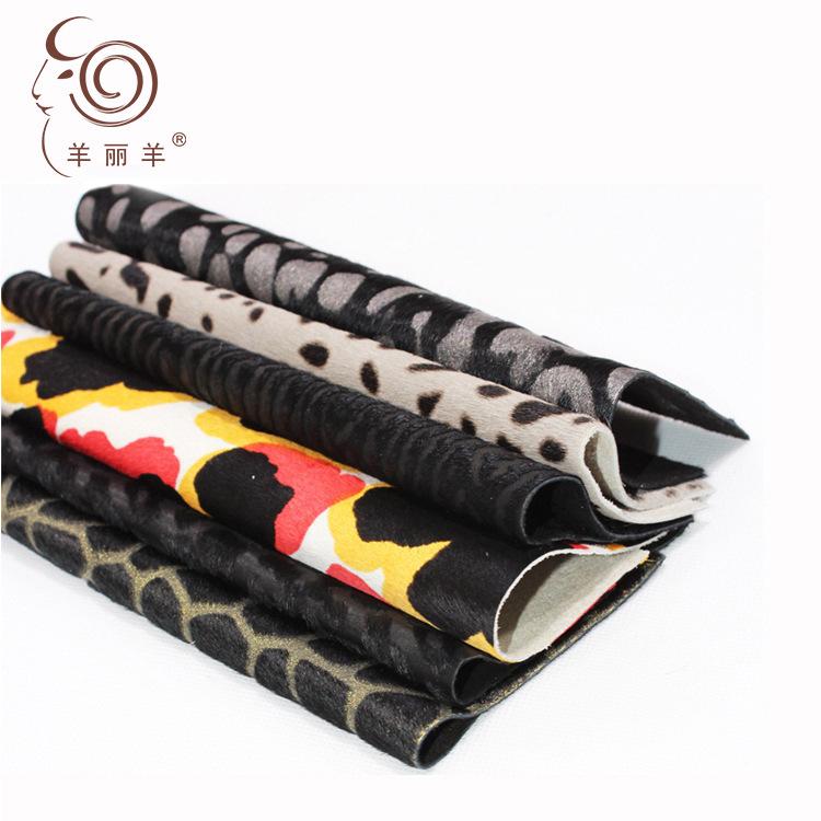 Yang Li Yang Da ngựa [Yang Li Yang] bán trực tiếp giày lông ngựa và túi da báo da ngựa bằng da