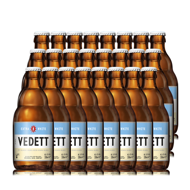 Bia thủ công Bỉ đóng gói 24 chai * 330ml
