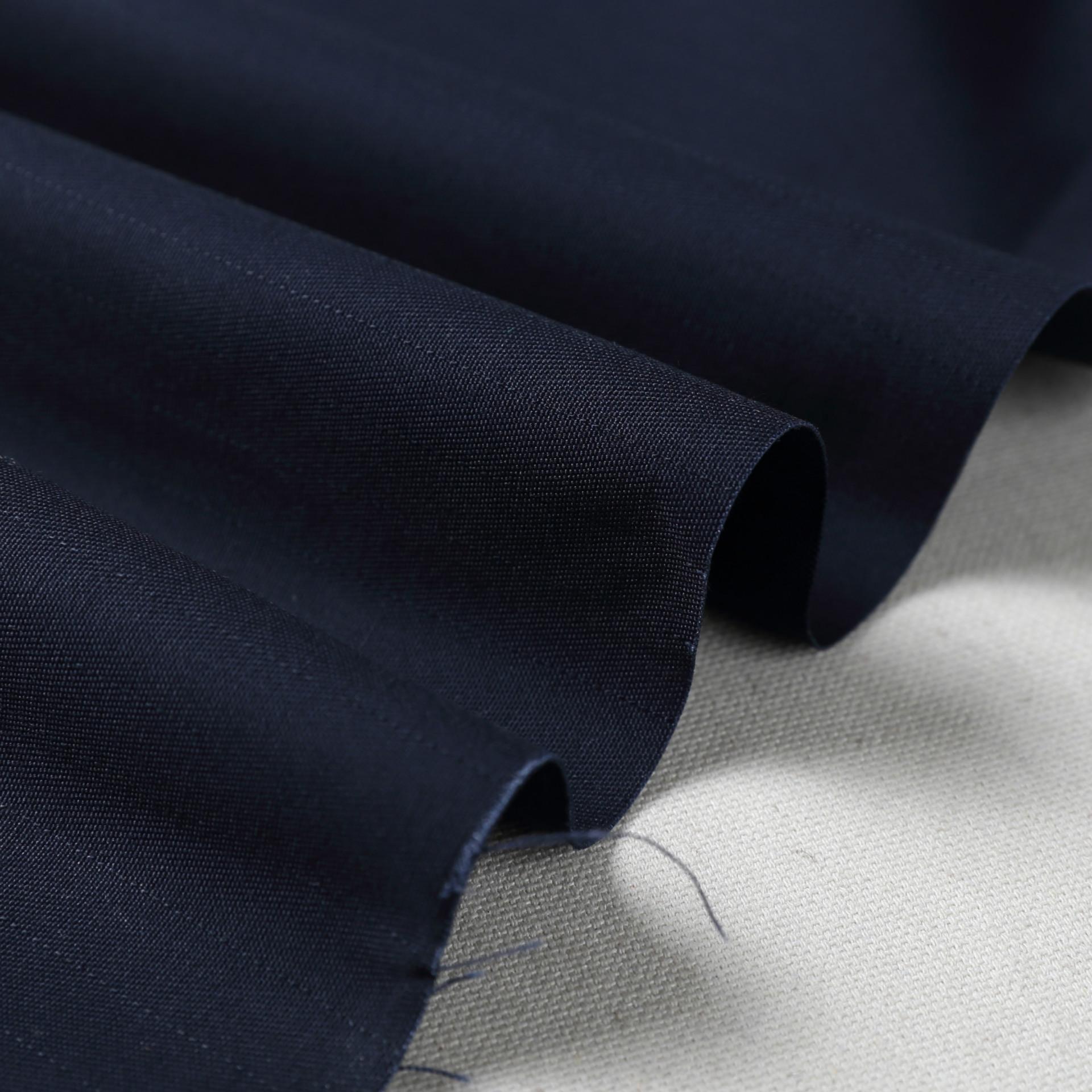 YANRU Vải pha sợi Mùa thu và mùa đông màu rắn phù hợp với vải Twill pha trộn sợi hóa học vải Thời tr