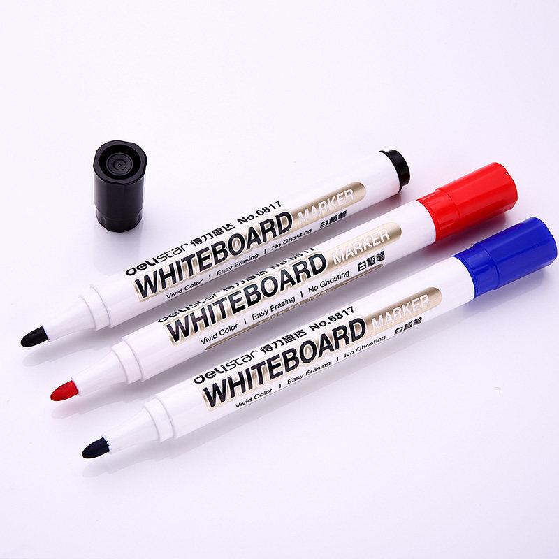 Đồ dùng văn phòng : Bút Lông ghi bảng trắng ,  Thương hiệu : Delistar  .