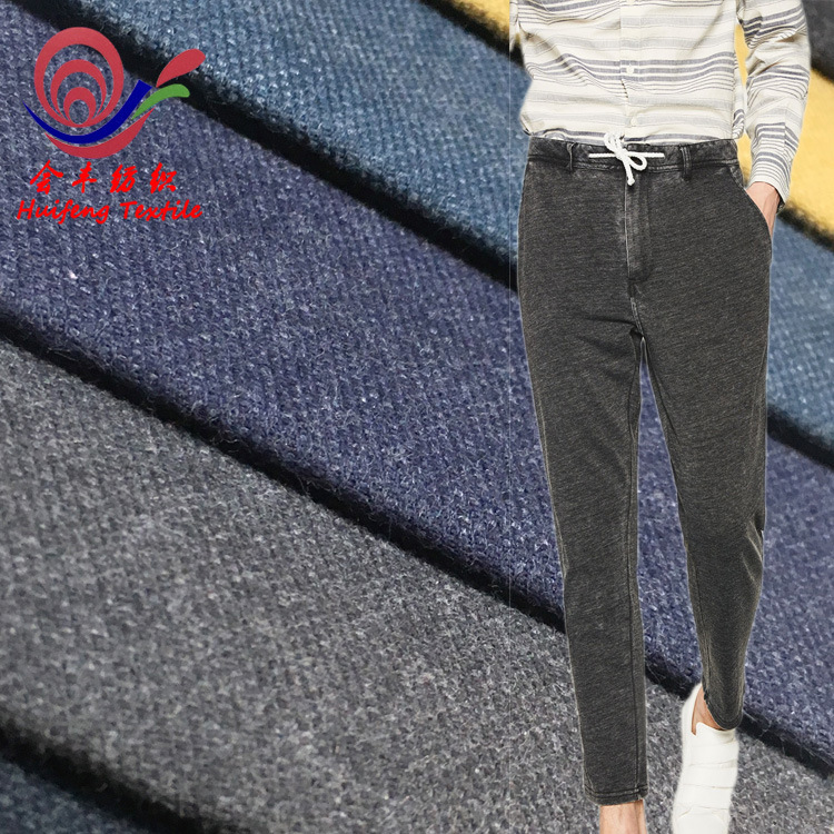 Vải cotton pha polyester Vải bông bán buôn vải polyester pha trộn CVC twill chà nhám căng nóng bán q