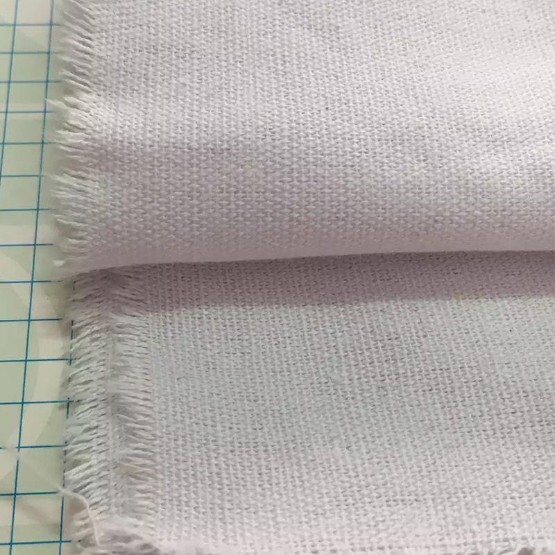 SUITENG Vải Cotton mộc Vải cotton 8 amp màu xám 60 * 32 vải canvas 8 amp 60 * 32 vải tự nhiên