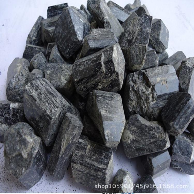 HAIBIN Khoáng sản phi kim loại Nhà sản xuất bán buôn Tân Cương tourmaline đen Tourmaline Nước kích h