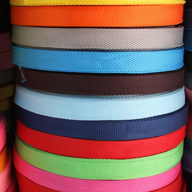 TUOCAN đai dệt Nhà máy trực tiếp PP Ribbon Polypropylen Túi Bag Ba lô Ribbon Bên ngoài Sideband Stoc