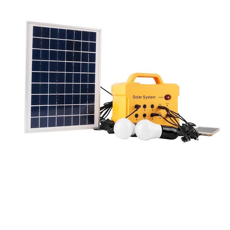 JCNS Thiết bị chiếu sáng bằng Hệ thống năng lượng mặt trời 20W.