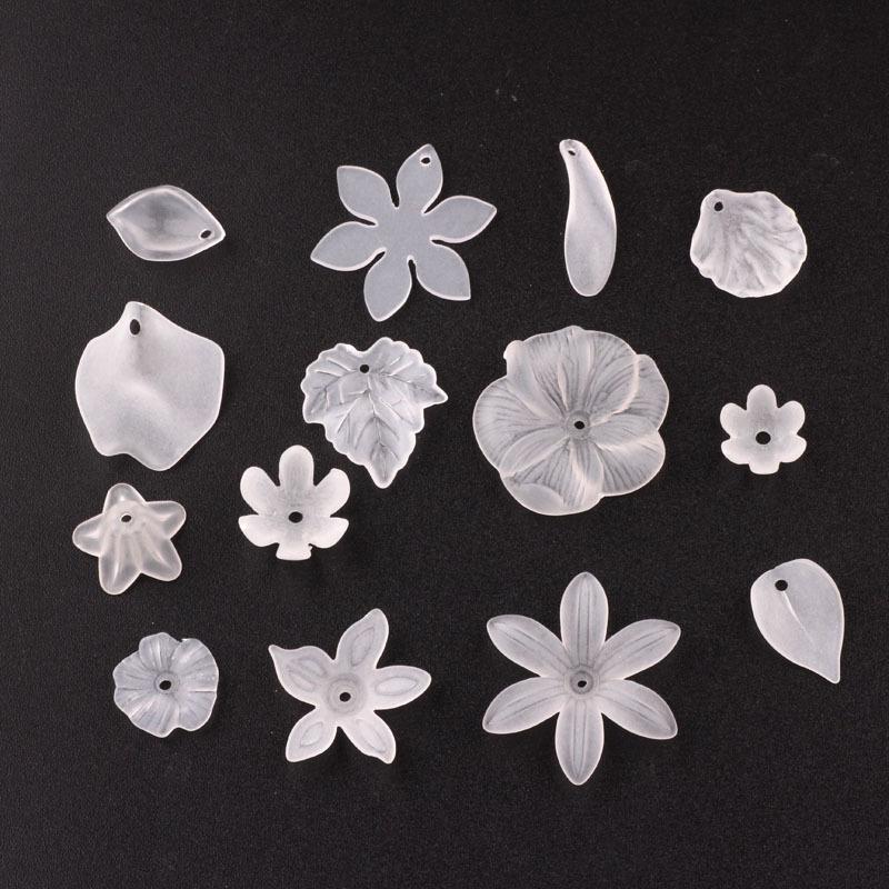 Vật liệu nhựa trong suốt DIY dùng trong trang sức Hàn Quốc , làm cánh hoa bông tai .