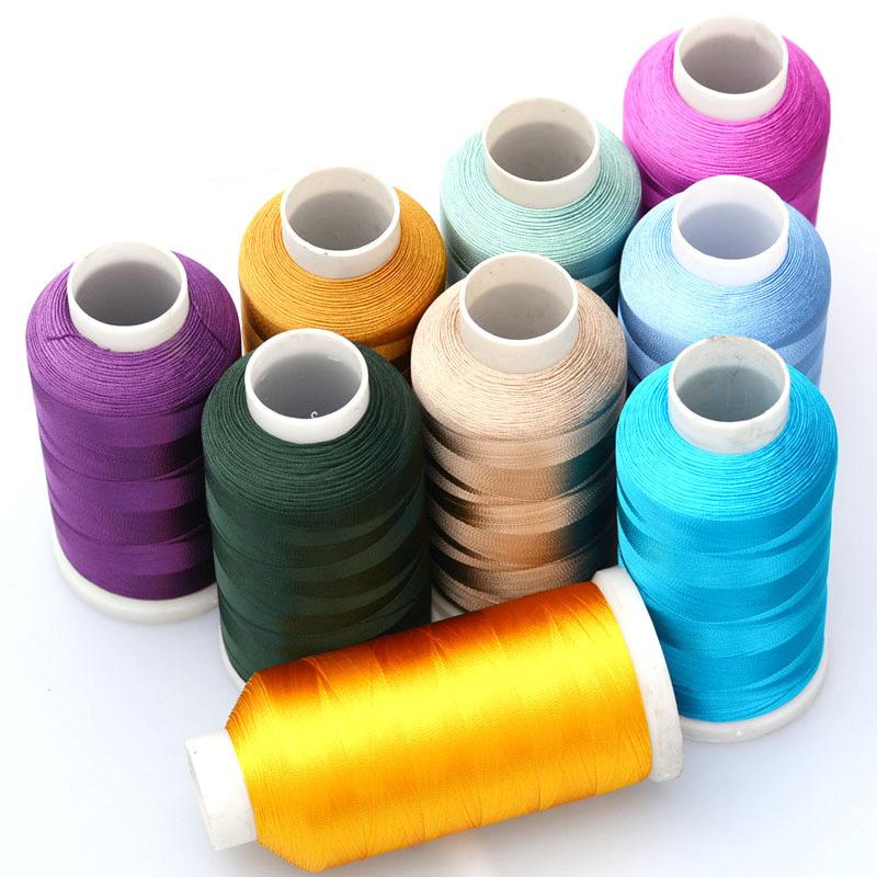 LONGJIE đai , dây , chỉ Rồng đan thủ công thêu sợi tơ rayon tua dây băng lụa tơ tằm dây 120D nhà máy