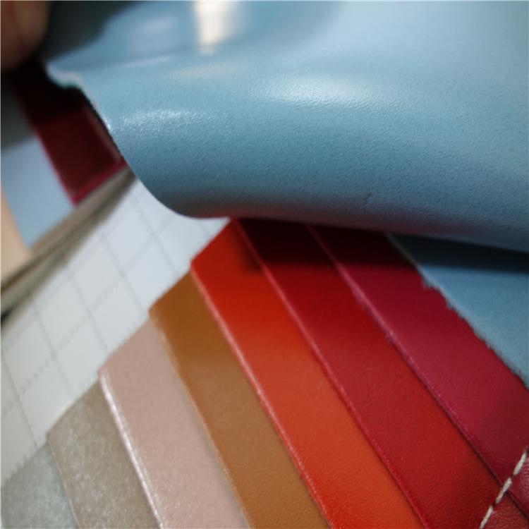 Vật liệu da Da bò thân thiện với môi trường vải mềm túi da dày