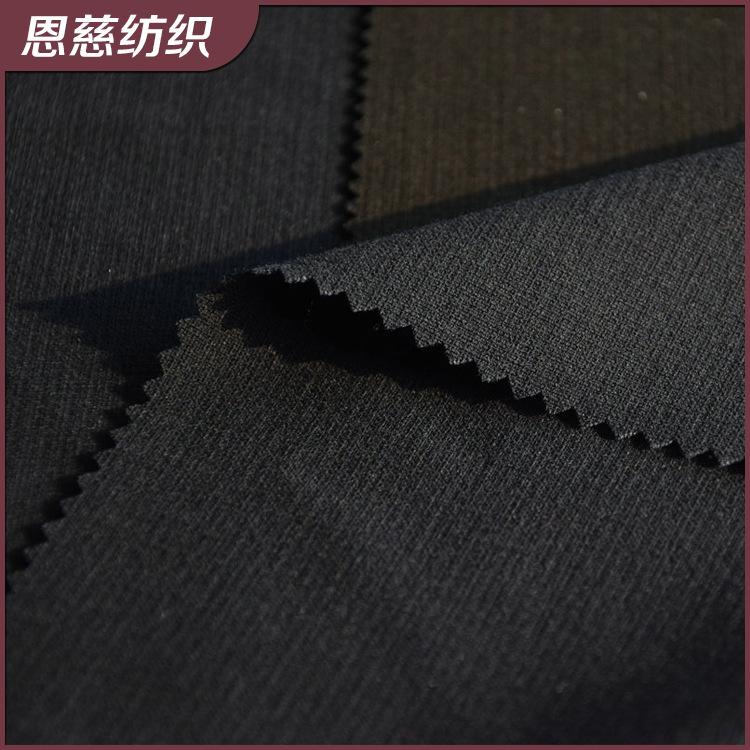ENCI Vải pha sợi Tr vải polyester dính đàn hồi dày pha trộn vải dệt polyester có thể được tùy chỉnh