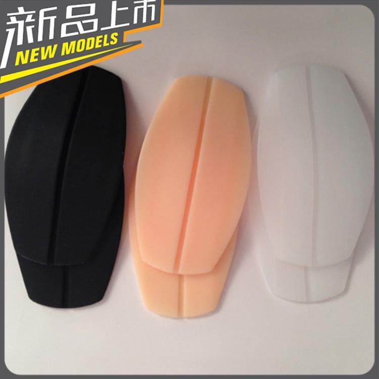 đệm vai áo Băng đeo chéo silicon độc quyền pad vai trong suốt Miếng đệm vai đồ lót Giải nén chống tr