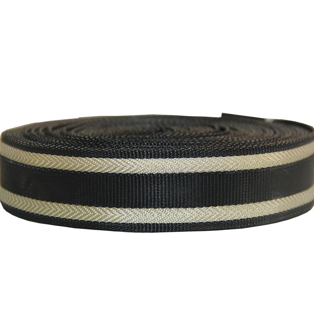 LIMAN đai , dây , chỉ Nhà máy Quảng Châu Liman Cung cấp điểm mới 40mm đai nylon vàng 4cm dây đeo vai