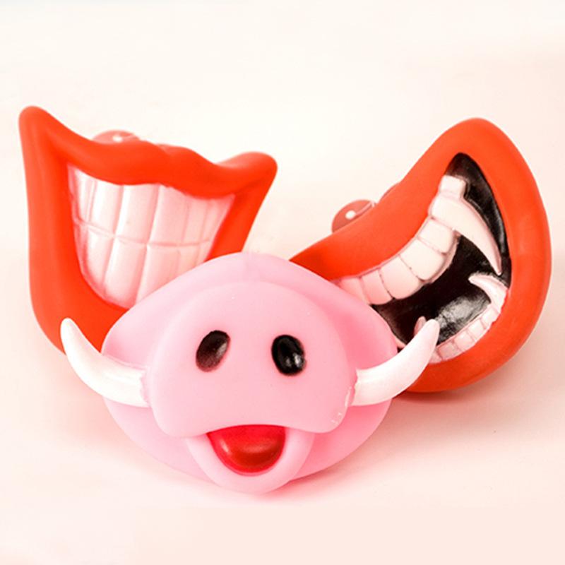 Mặt Nạ Hóa Trang Kiểu răng nanh ma cà rồng / nanh mặt lợn dành cho thú cưng