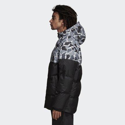 Adidas Phái nam  Adidas chính thức Adidas clover Color Block JKT nam xuống áo khoác DP8551