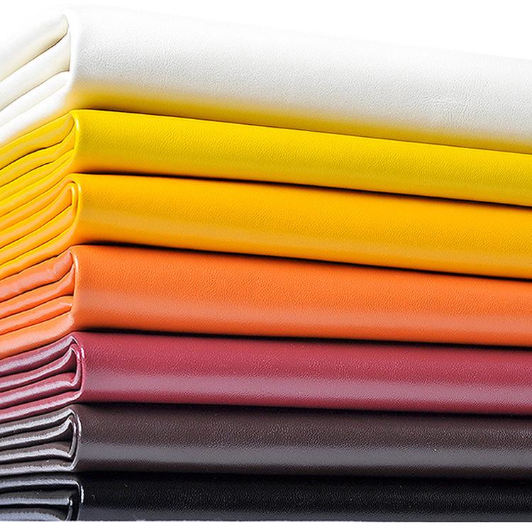 YICHEN da Bán buôn tại chỗ dày 0,7mm Napa mẫu vải da pu túi mềm túi sofa da nhân tạo chất liệu chung