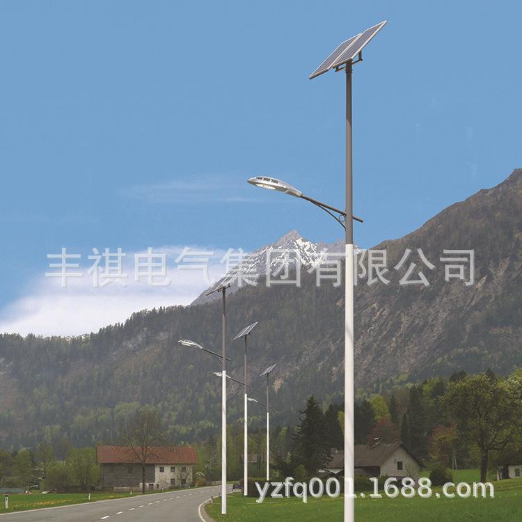 Đèn đường dẫn ánh sáng năng lượng Mặt trời mới