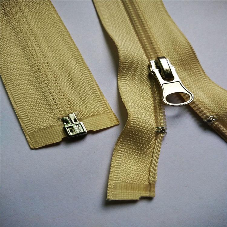 Thị trường phụ kiện Nhà máy cung cấp trực tiếp Số 5 dây kéo nylon Cửa dây kéo Kiểm tra tùy chỉnh kim