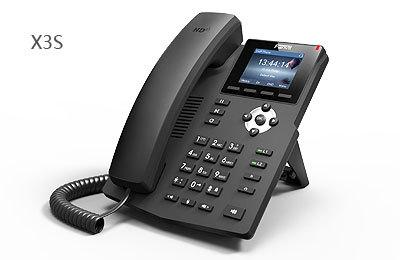 Điện thoại Voip phone X3S sử dụng 2 tài khoản SIP, Màn hình màu .