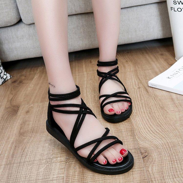 Giày Sandal dây kiểu dáng năng động dành cho Nữ .