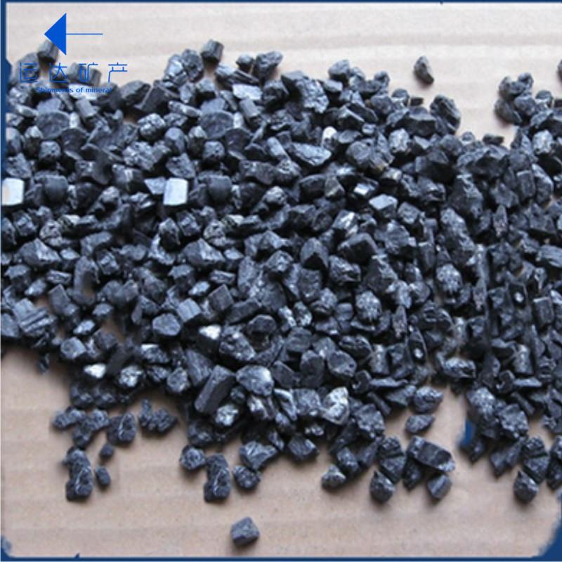 YUNDA Khoáng sản phi kim loại Nhà máy hạt tourmaline trực tiếp để tinh chế chất lượng nước tourmalin