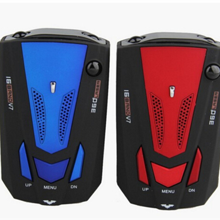 ZHONGXING Chó rôbôt Các nhà sản xuất cung cấp V7 radar tốc độ xe di động radar đo tốc độ xe điện tử
