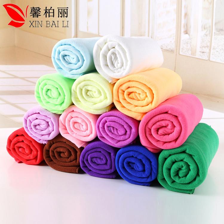 XINBAILI Thị trường khăn Khăn sợi nhỏ 180g / m2 30 * 70 thấm hút khô làm sạch tóc bằng nước rửa xe G