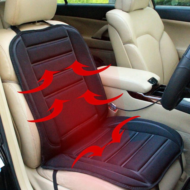 Đệm Lót Ngồi với điện sưởi ấm dành cho xe hơi .