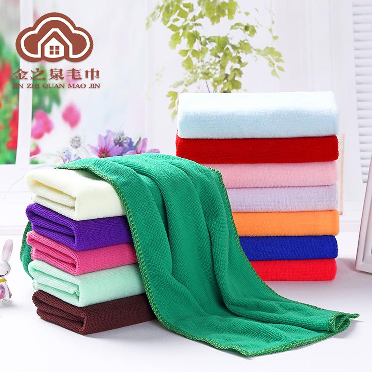 JINZHIQUAN Thị trường khăn Khăn bán buôn 30 * 70 khăn làm sạch quà tặng Quà tặng khuyến mại 30 * 30