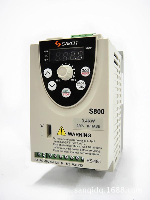 SACNH Thiết bị biến tần Biến tần ba cơ sở S800-2S0.4G Biến tần SANCH Đài Loan