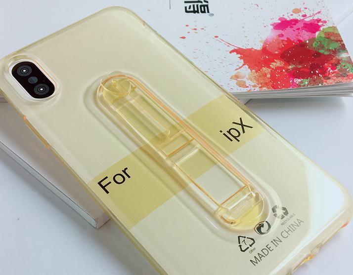 Ốp lưng trong suốt cho điện thoại iPhone X .