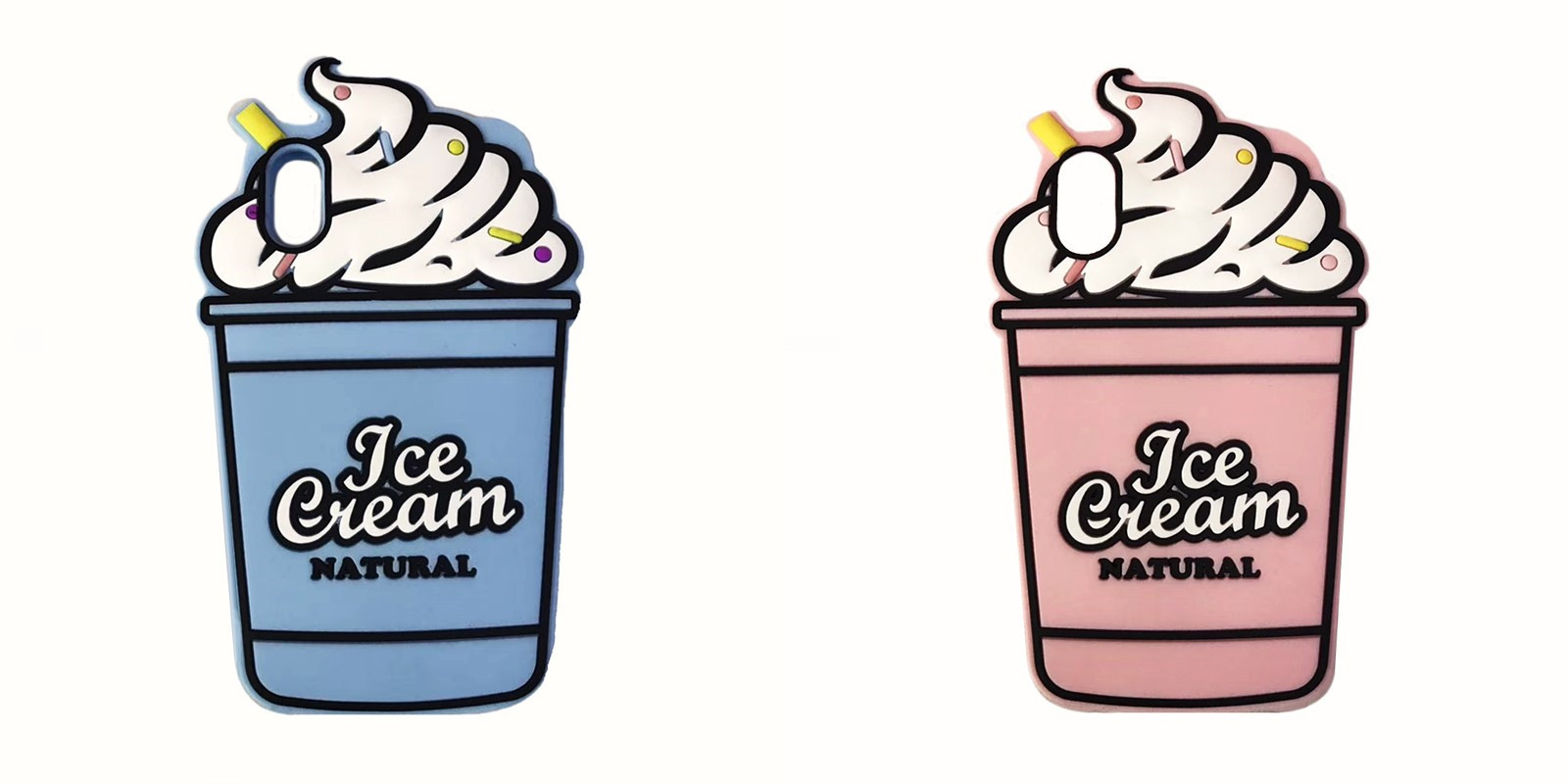 iphone   Thị trường phụ kiện di động  Thời trang mới mùa hè mát kem sô - Cô - la kem silica gel chốn