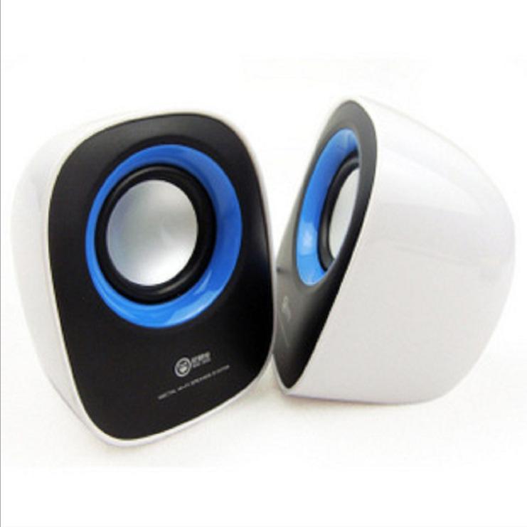 Loa USB mini stereo dễ thương , Âm Thanh trầm hay .