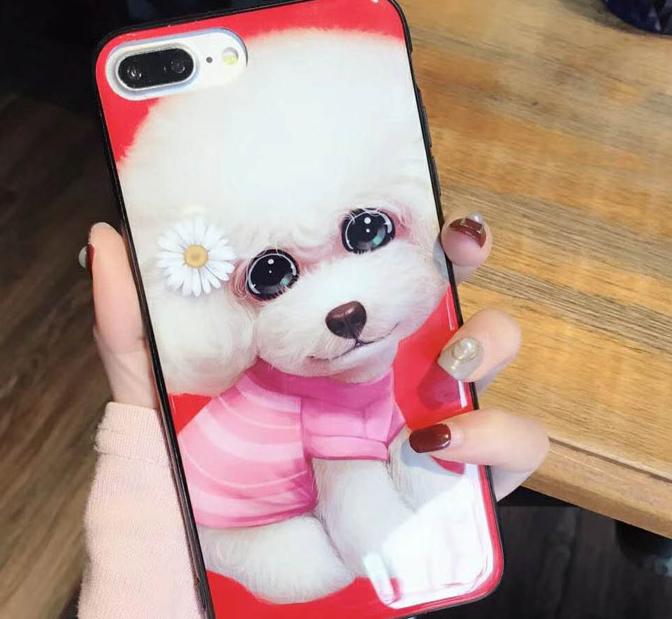 Thị trường phụ kiện di động : Ốp Lưng bảo vệ iphone hình chú chó .