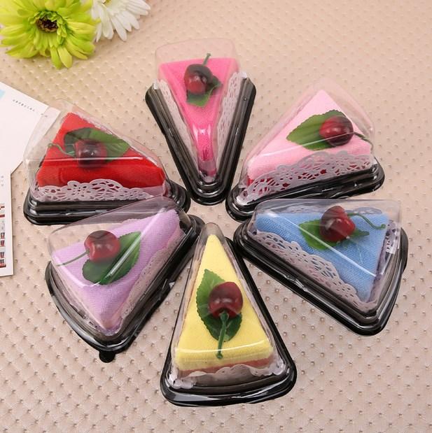 CHANGQIONG Khăn bánh kem Bán buôn nóng bán quà tặng sáng tạo bánh sandwich khăn đám cưới kỳ nghỉ thủ