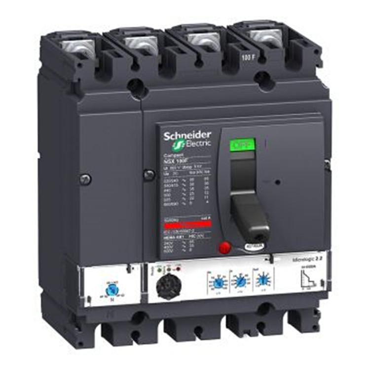 Schneider Bộ ngắt mạch Schneider (có ngắt từ nhiệt) NSX250F TMD / 4P 200A