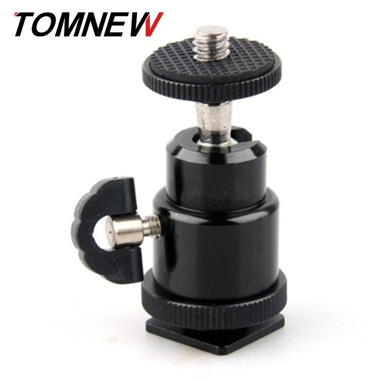 TOMNEW Chân giá đỡ Camera Hot Boots Mini PTZ 1/4 Vít PTZ hình cầu